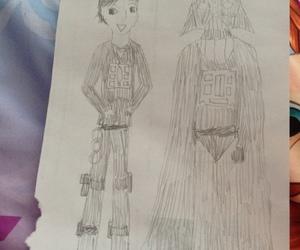 darth vader, Knight Rider, and kitt image