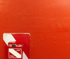 arrow, fire alarm, and photography image