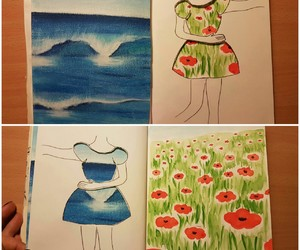 aquarelle, art, and drawing image