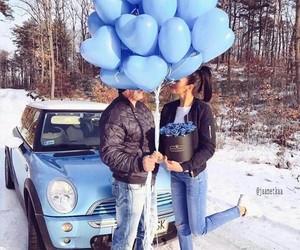 amour, Bleu, and couple image