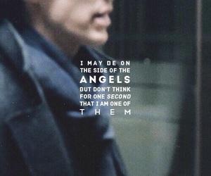 sherlock, angel, and bbc image