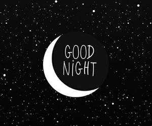 good night, moon, and wallpaper image