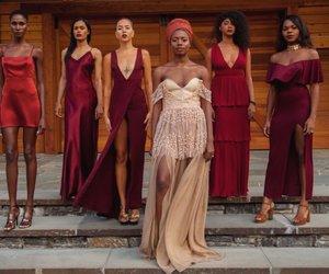 black woman, model, and models image