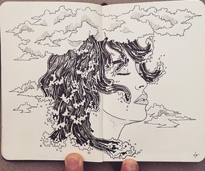 drawing, inspiration, and pen image
