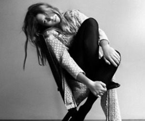 beautiful, black and white, and Lea Seydoux image