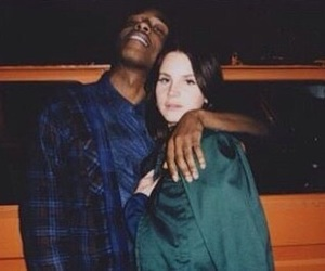 lana del rey, asap rocky, and a$ap rocky image