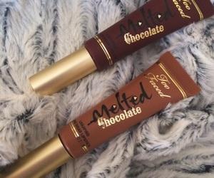 aesthetic, lips, and chocolate image