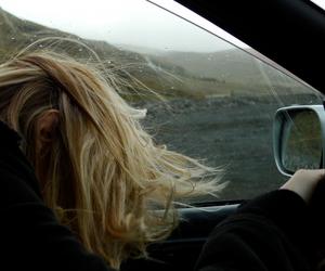 grunge, car, and hair image