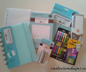 agenda, planner, and supplies image
