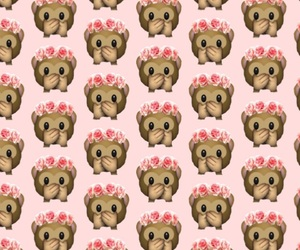 macaco, pink, and wallpaper image