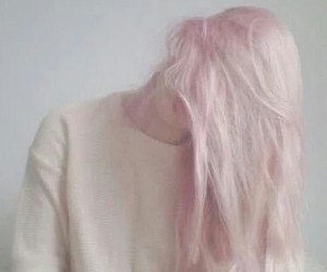 icon, hair+pink, and pink image