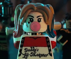 harley quinn, lego, and suicide squad image