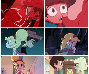 starco, marco diaz, and star butterfly image