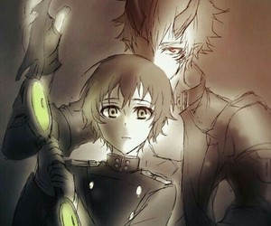 demon, anime boy, and owari no seraph image