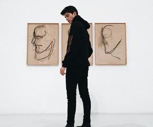manu rios, boy, and art image