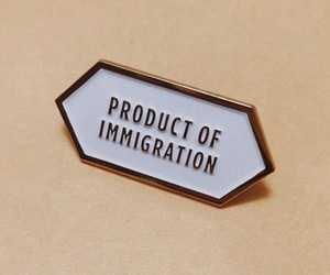 beige, brown theme, and immigrants image