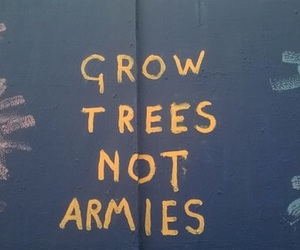 quotes, tree, and peace image