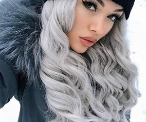 beautiful, beauty, and long hair image