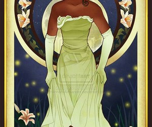 tiana, disney, and the Princess and the frog image