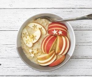 apples, breakfast, and food image