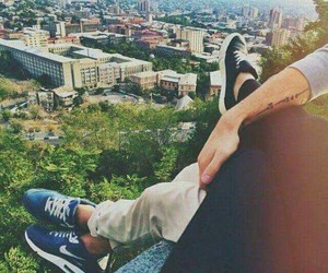 beauty, city, and couple image