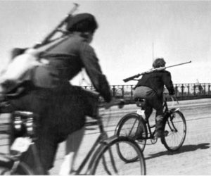 bicycle, bike, and black and white image