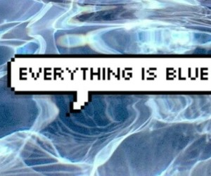 blue, water, and tumblr image