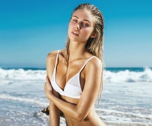 model, blonde, and girl image