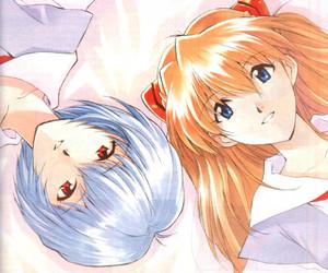 evangelion, girl, and anime art image