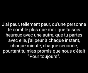 french, quotes, and peur image