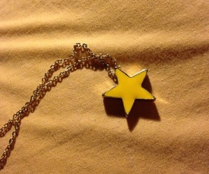 necklace, stars, and want image