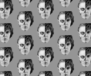 faces, tate, and evan peters image