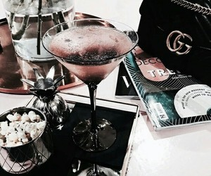 drink, gucci, and food image
