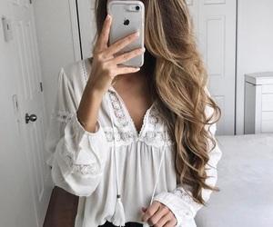 fashion and long hair image