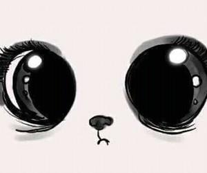 anime, cute, and cartoon image