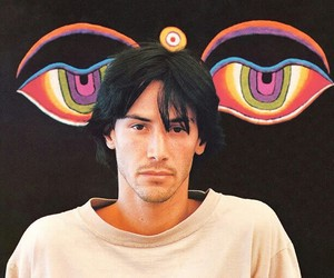 beautiful, eyes, and keanu reeves image