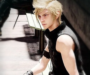guy, prompto, and ffxv image