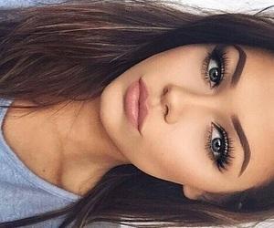 body, girl, and makeup image