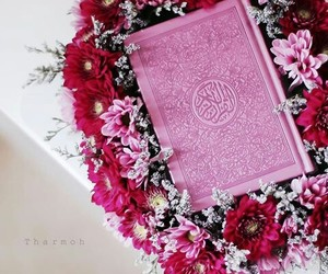 flowers, islam, and coran image