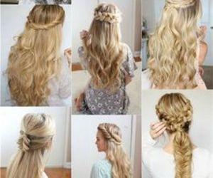 hair, hairstyles, and blonde hair hairstyles image