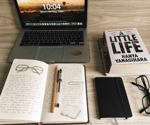 book and laptop image