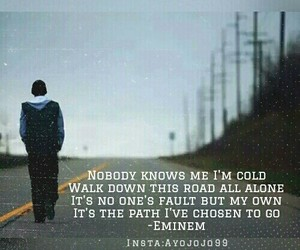 eminem, Lyrics, and m&m image