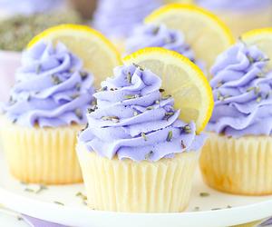 cupcake, food, and theme image