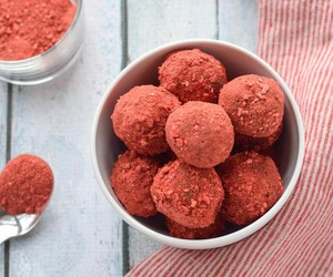paleo, chocolate truffles, and three ingredient image