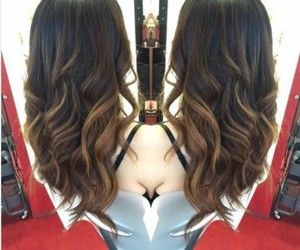 brune and balayage image