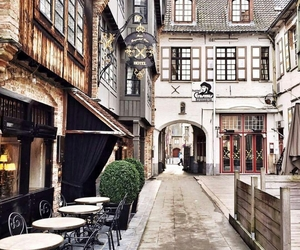 belgium, cafe, and place image