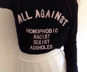 assholes, pride, and racist image