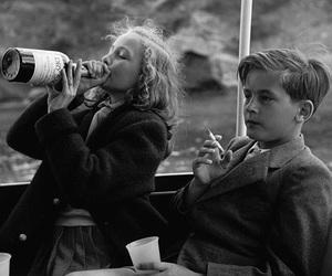 alcohol, kids, and smoke image