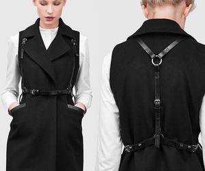 belt, fashion, and harness image