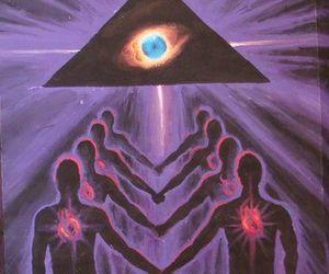 illuminati and painting image